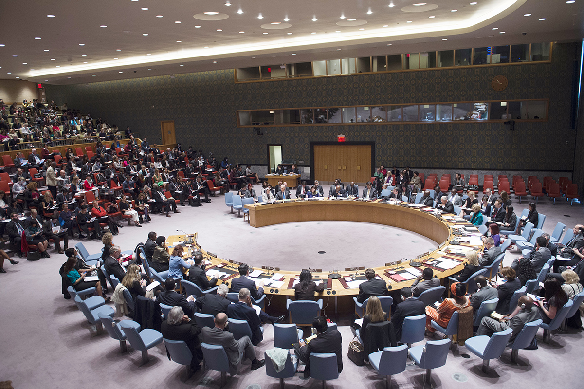 Council Debates Women, Peace and Security - October 28 2014 - UN Photo (Amanda Voisard)