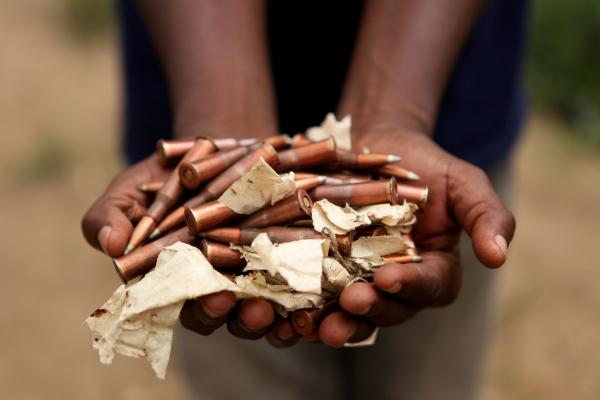 UNOCI Conducts Disarmament Operation in Abidjan, Cote d'Ivoire.