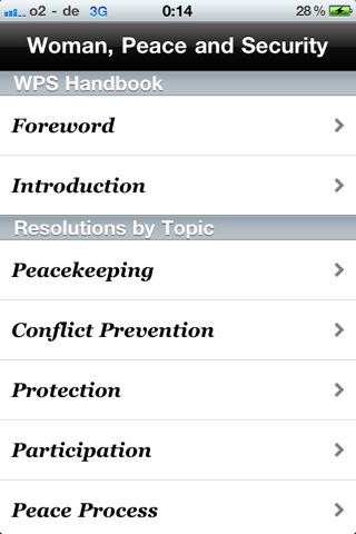 Download: Women, Peace & Security Handbook iPhone/iPad