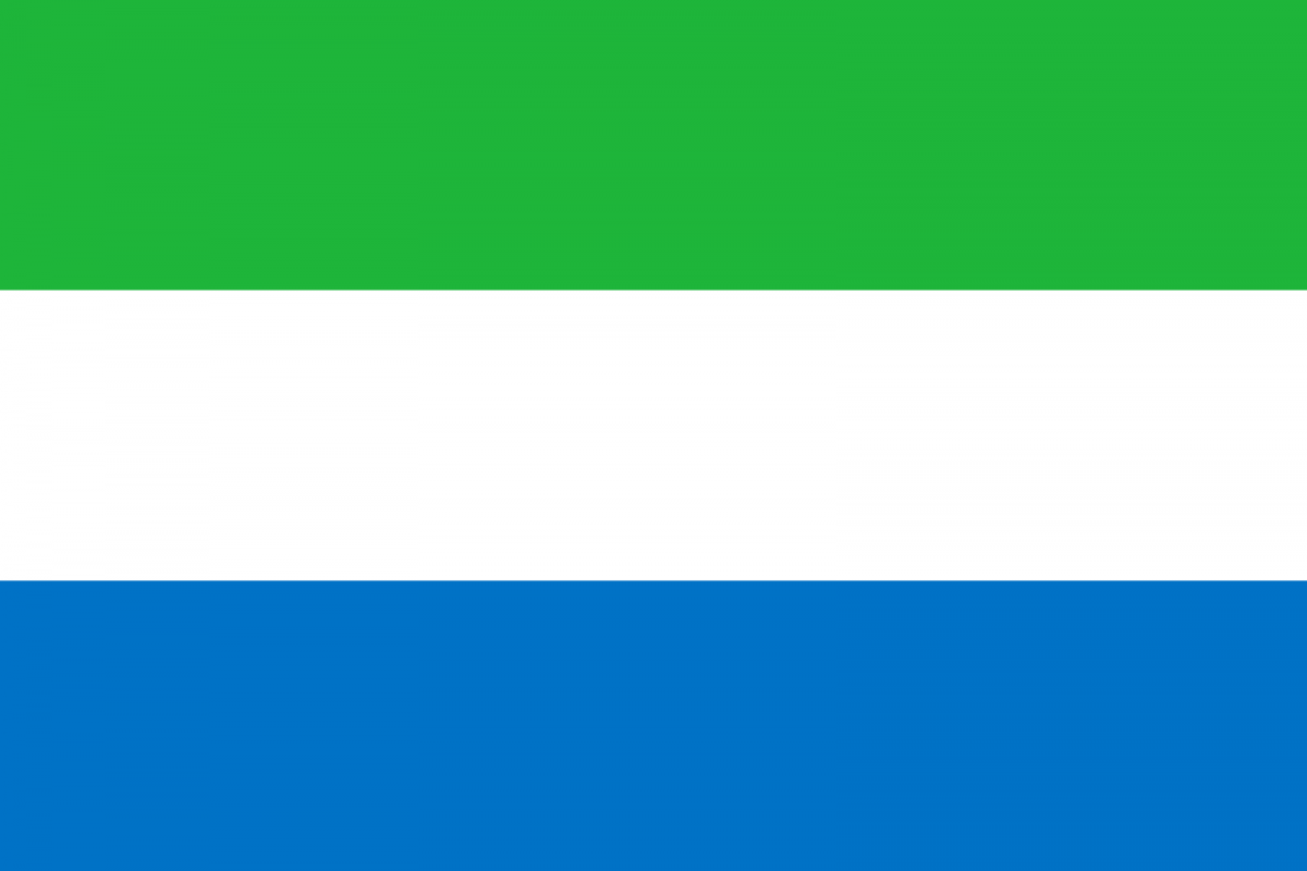 Flag of Sierra Leone