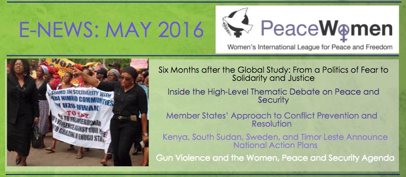 E-News | PeaceWomen