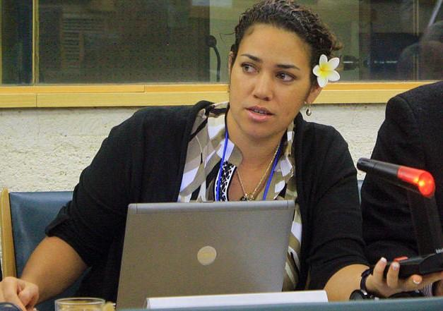 Ms. Coral Pasisi, Director of the Sustainable Pacific Consultancy from the Pacific Islands region, briefed the UN Security Council at this year's open debate on climate and security.